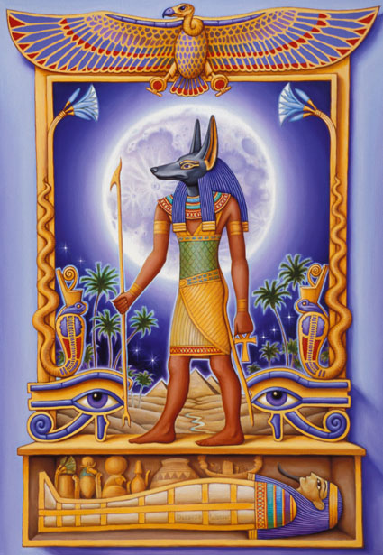 Anubis - Healing Workshop Glastonbury
