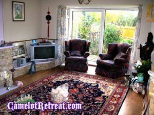 Meditation Room – Camelot Retreat - Accommodation in Glastonbury