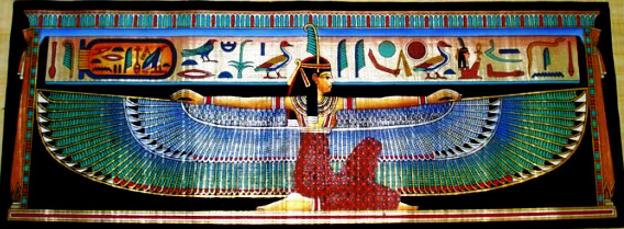 Maat Egyptian Goddess
