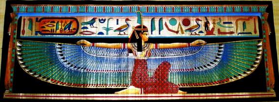 Maat Egyptian Goddess