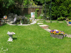 Garden - Camelot Retreat - Accommodation in Glastonbury